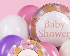 Babyparty Dekoration - Luftballons