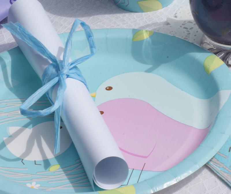 Pappteller für Ihre Baby Shower