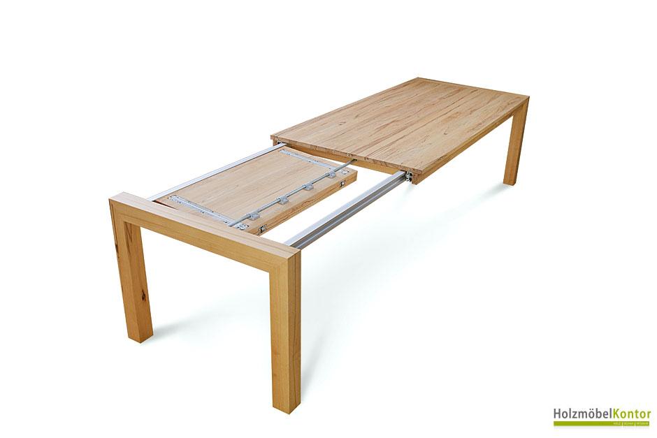 Wohnkantine - Wohnideen vom Holzmöbelkontor : Mehr Platz am Esstisch!
