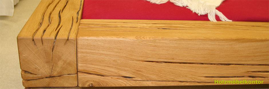 Bettrahmen Massivholz Trendy Loft Vintage Industrial Und Stahl With